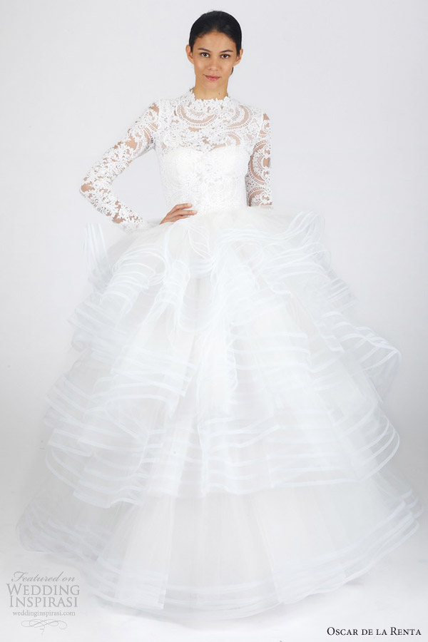 Wedding Dresses Fall 2013 Collection While the Spring bridal