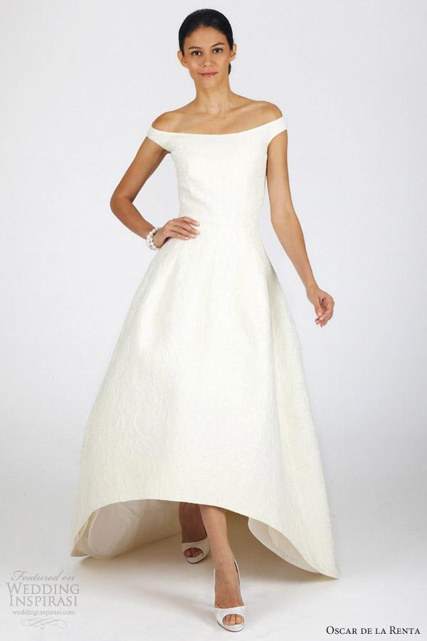 La Wedding Dress 72 Elegant oscar de la renta