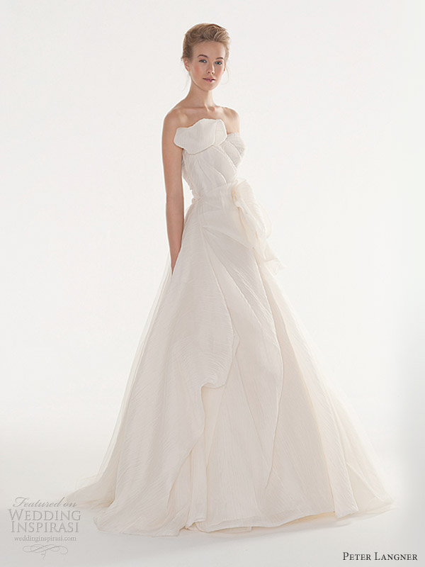 Peter Langner Wedding Dresses 2013 Wedding Inspirasi