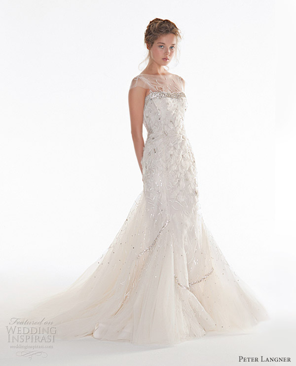 peter langner couture wedding dresses 2013 seventh sense