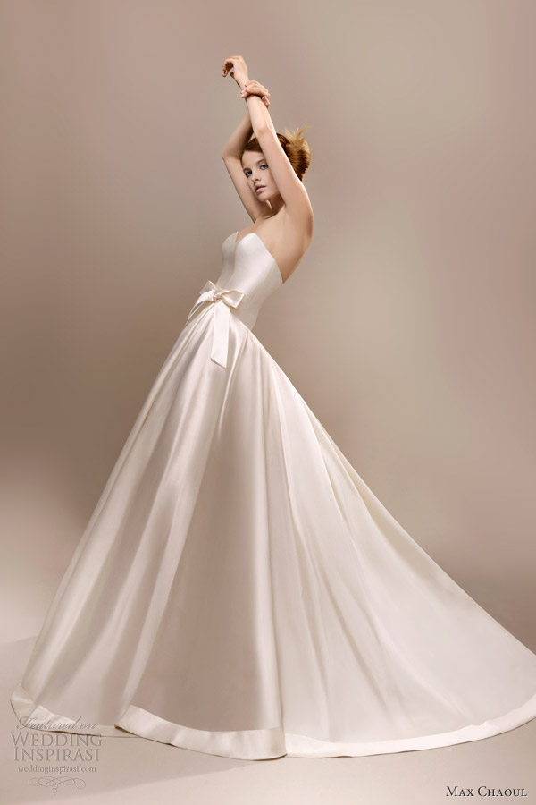 poker face wedding dress max chaoul 2013 bridal