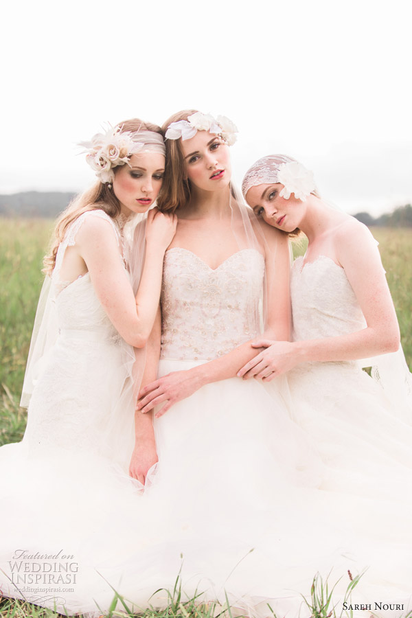 sareh nouri bridal 2013 romantic wedding dresses