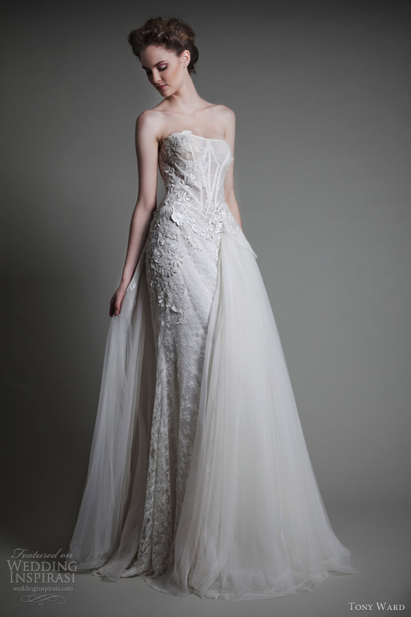 tony ward bridal 2013 notes de coeur wedding dress