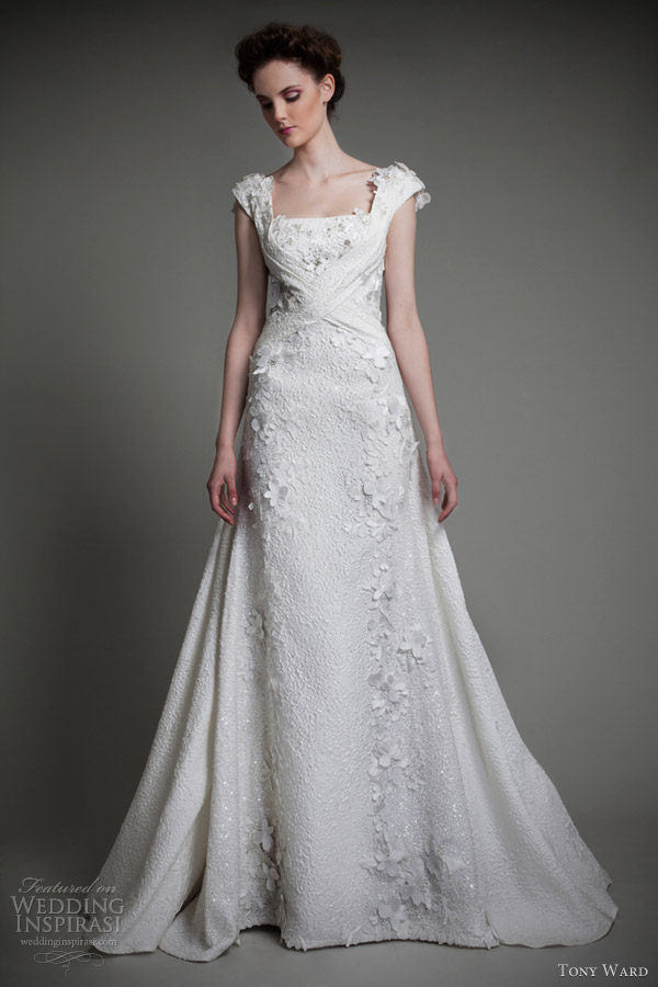 tony ward bridal 2013 petales wedding dress
