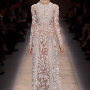 valentino spring 2013 ready to wear long sleeve dress