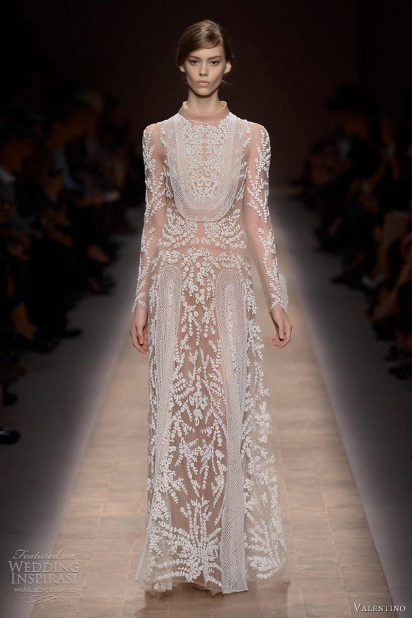 Valentino Spring Summer 2013 Ready To Wear Wedding Inspirasi