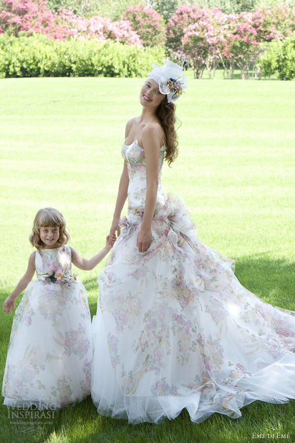 Flower Floral Wedding Gowns : Em? di wedding dresses inspirasi page