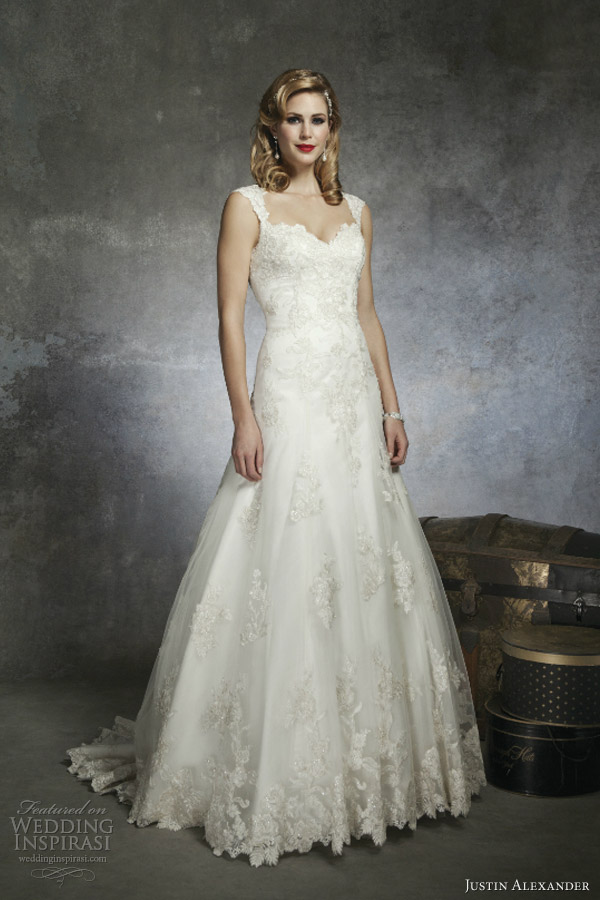 justin alexander bridal spring 2013 wedding dress style 8653