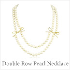 Kate Spade Double Row Pearl Necklace