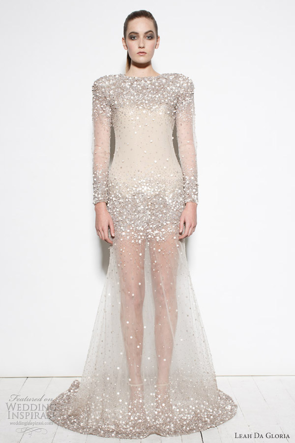 leah da gloria project runway australia 4 wedding dress long sleeves