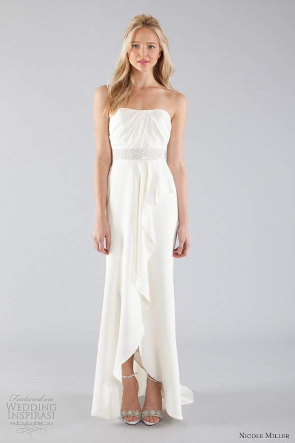 nicole miller bridal fall 2013 wedding dresses wedding