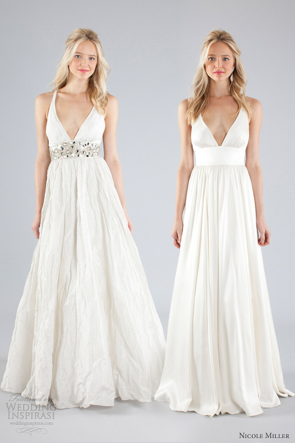 Nicole miller bridal fall 2013 wedding dresses wedding for Nicole miller dresses wedding