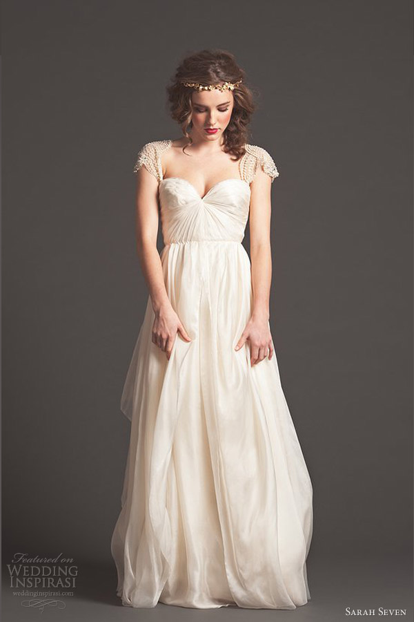 sarah seven bridal fall 2013 wedding dresses wedding