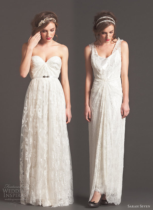 sarah seven bridal fall 2013 swell yours truly wedding dresses