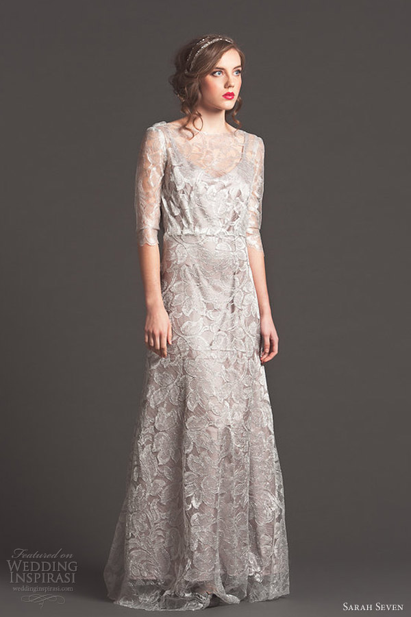 sarah seven wedding dresses fall 2013 bridal moonlight gown