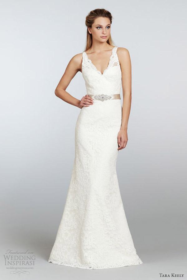 Tara keely spring 2013 wedding dresses wedding inspirasi for Ivory beaded wedding dress