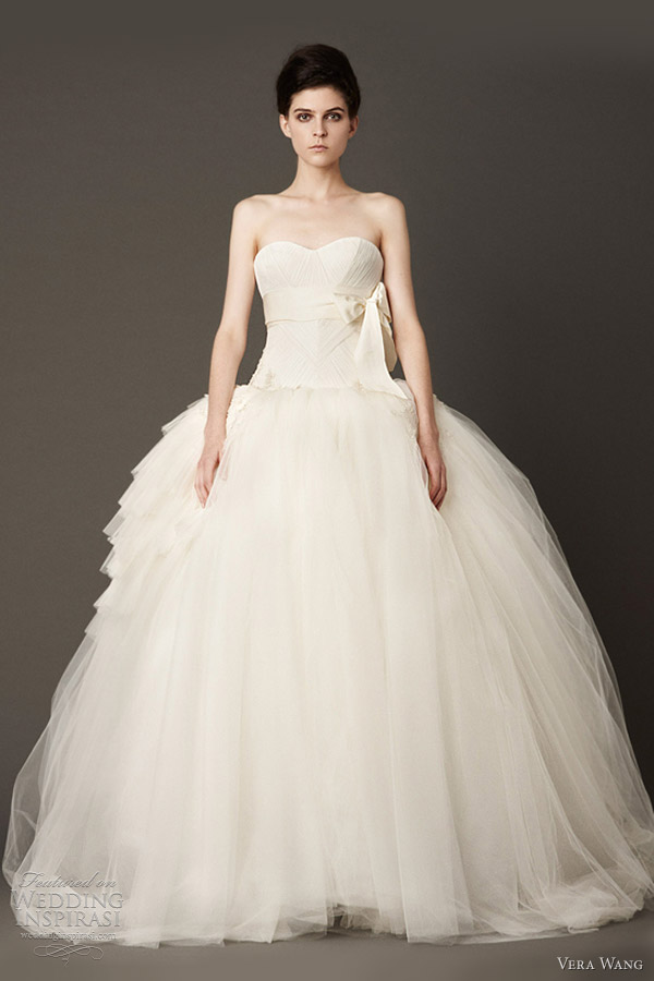 Ball Gown Wedding Dresses By Vera Wang : Vera wang ball gown wedding dress