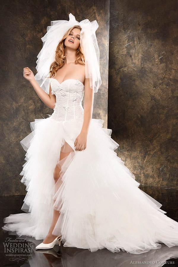 alessandro couture wedding dresses � butterfly bridal