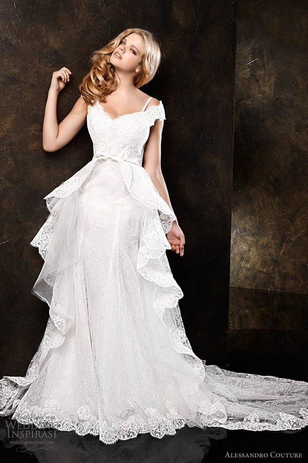 Alessandro Couture Wedding Dresses — Butterfly Bridal Collection ...