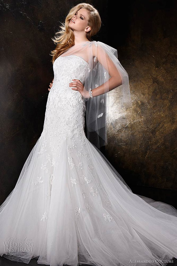 Alessandro Couture Wedding Dresses Butterfly Bridal