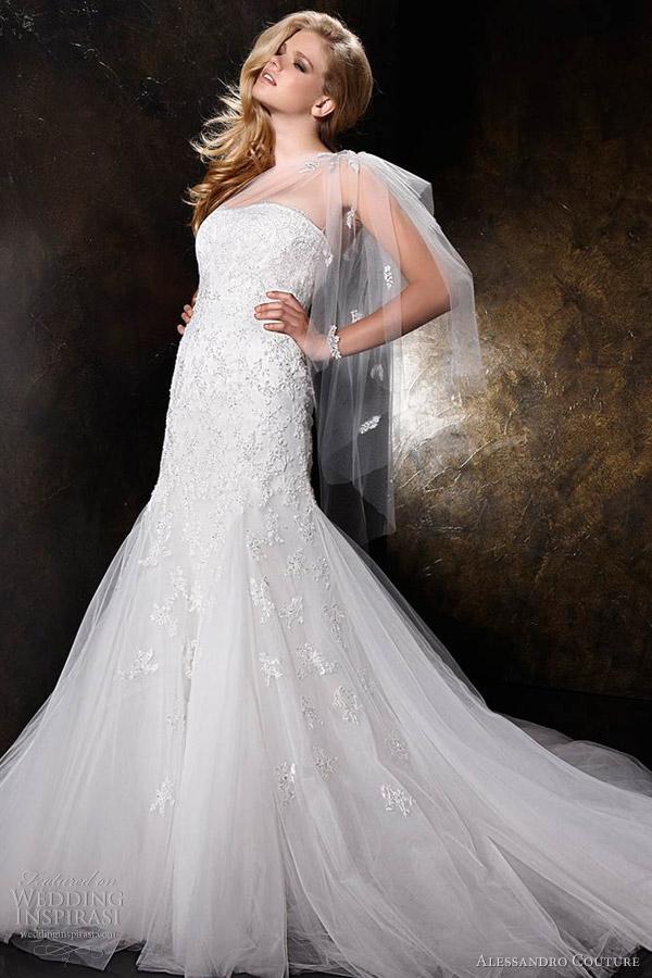 Wedding Dresses One Shoulder 79 Fresh alessandro couture wedding dresses