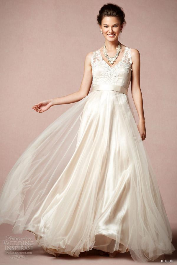bhldn wedding dresses spring 2013 collection wedding inspirasi
