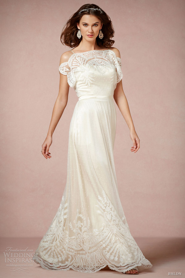 bhldn wedding dresses 2013 omelia gown straps catherine deane