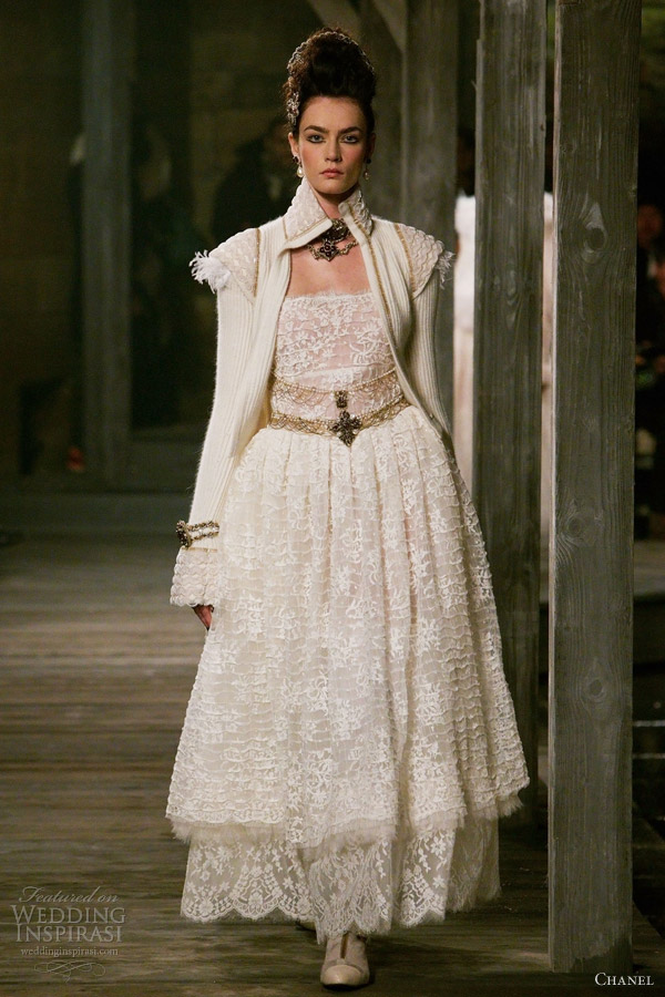 chanel prefall 2013 collection wedding inspirasi