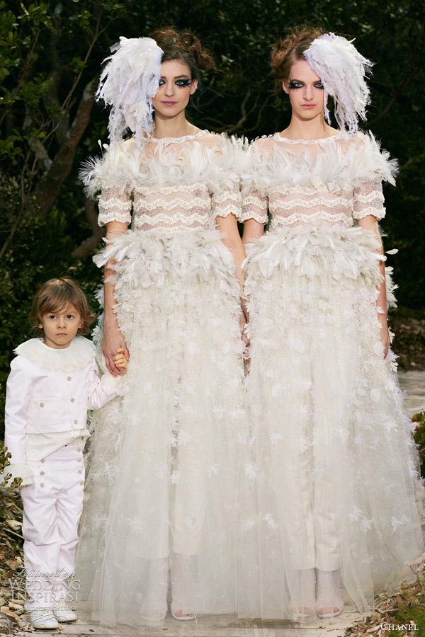 chanel spring summer 2013 couture collection wedding inspirasi