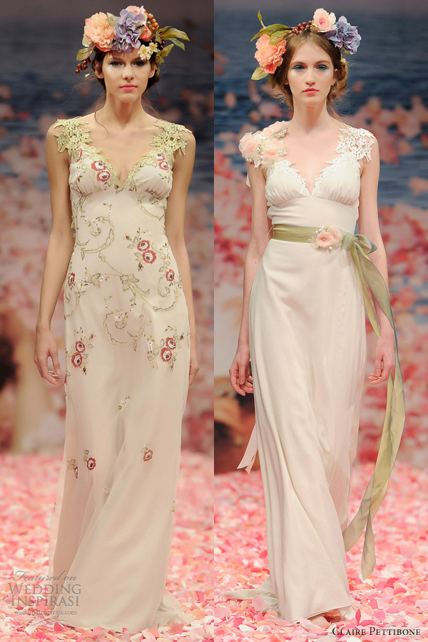 claire pettibone bridal spring 2013 olivia maiden wedding dress color