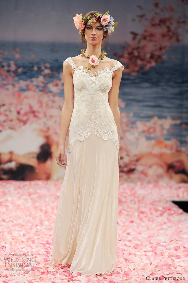 Claire Pettibone Spring 2013 Bridal Collection Wedding Inspirasi