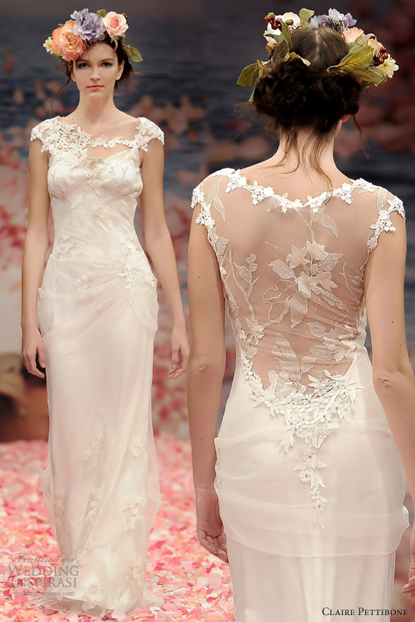 Claire Pettibone Spring 2013 Bridal Collection Wedding