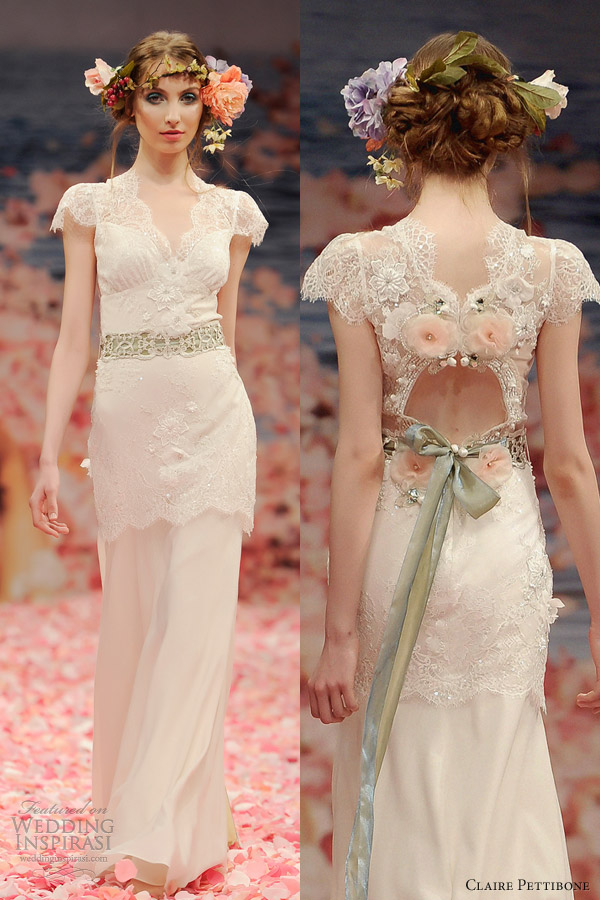 Claire pettibone spring 2013 bridal collection wedding for Where to buy claire pettibone wedding dress