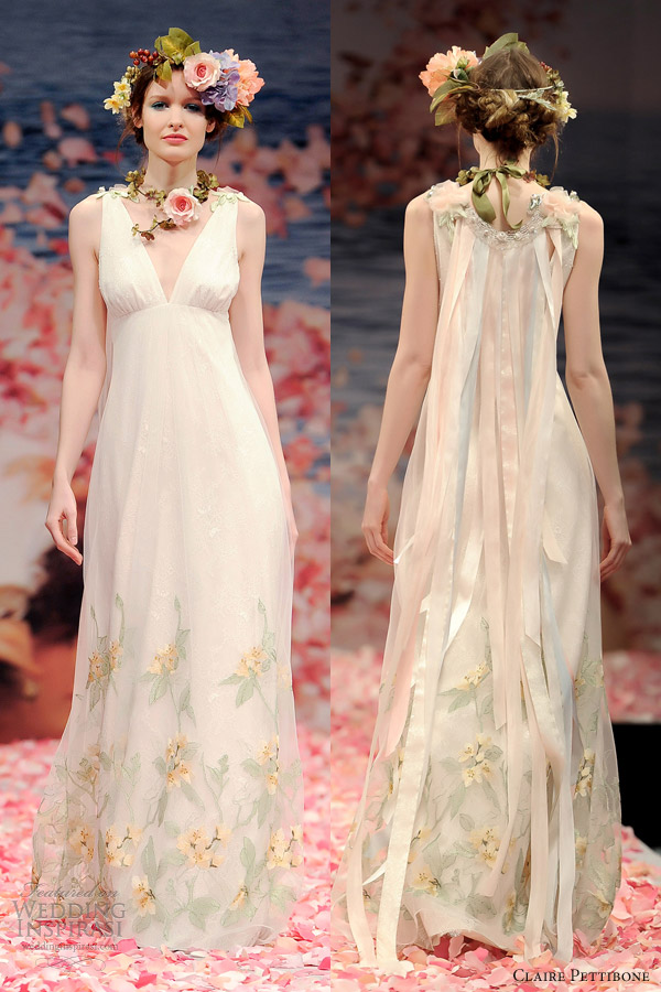 Claire pettibone spring 2013 bridal collection wedding for Wedding dress claire pettibone