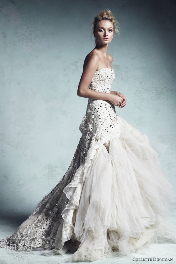 collette dinnigan 2013 bridal couture wedding dress crystal queen