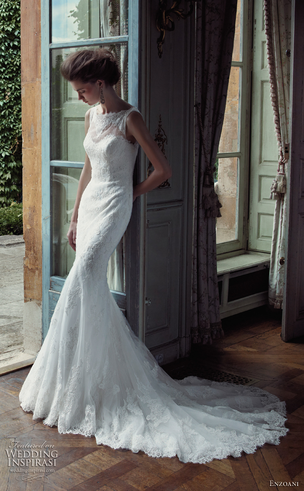 Blue Enzoani Wedding Dress For  : Enzoani timeless wedding dresses sponsor