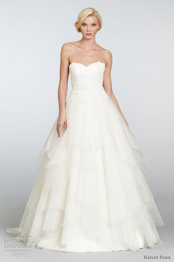 hayley paige spring 2013 wedding dresses wedding inspirasi page 2