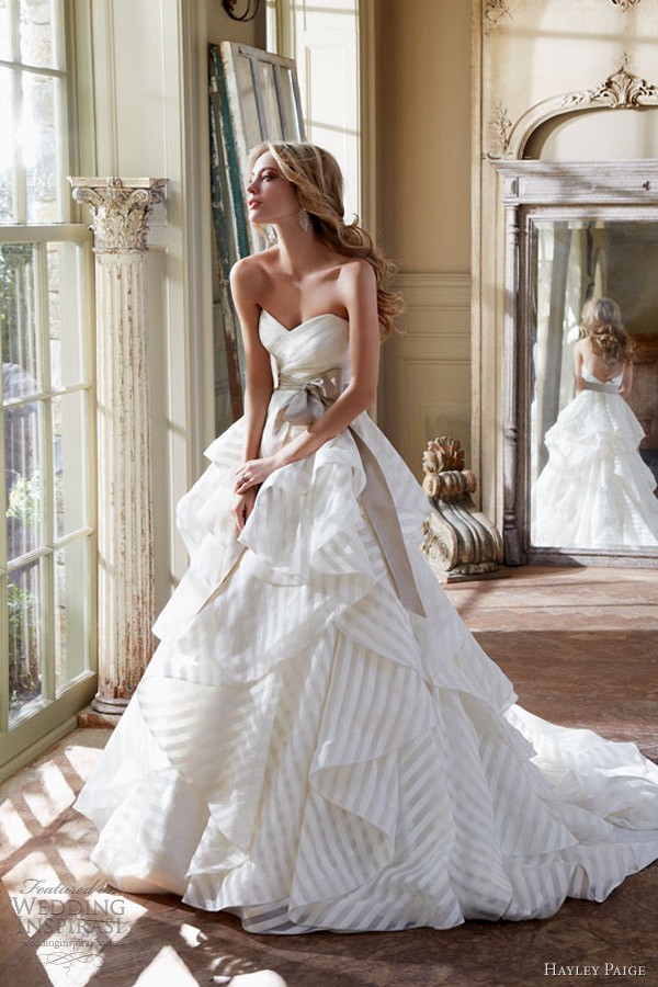 hayley paige spring 2013 wedding dresses wedding inspirasi
