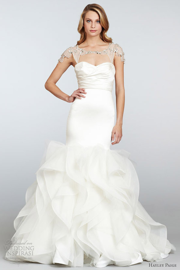 Hayley Paige Spring 2013 Wedding Dresses Wedding