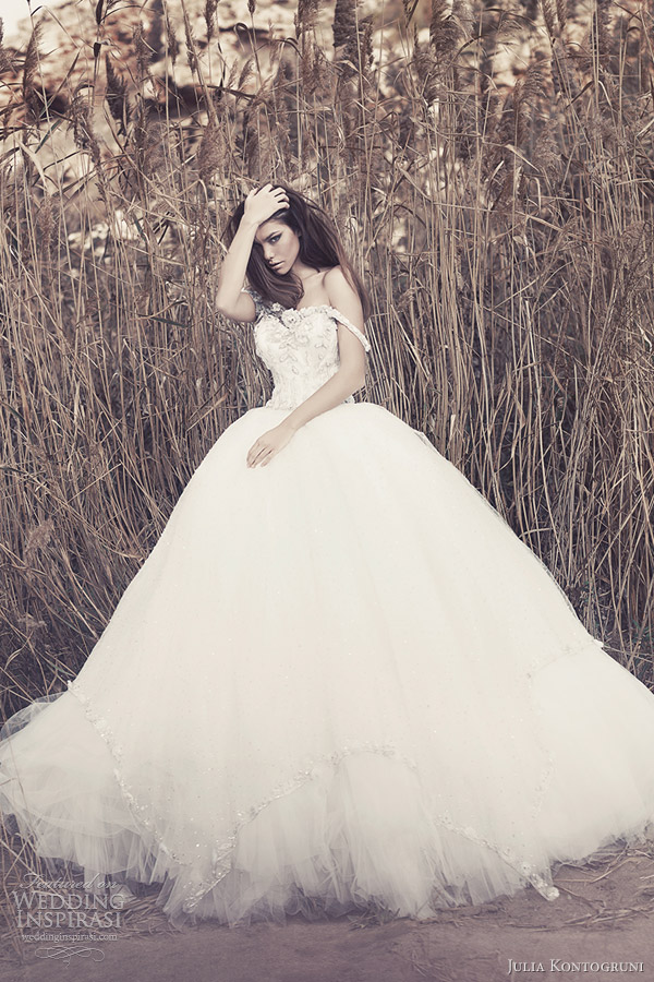 julia kontogruni bridal 2013 ball gown wedding dresses