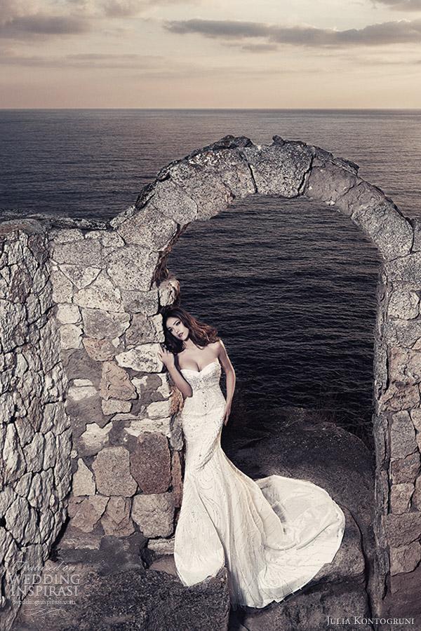 julia kontogruni bridal 2013 embellished wedding dress