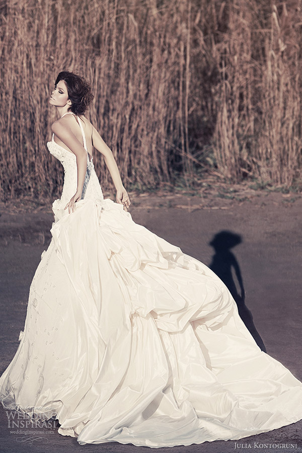 julia kontogruni bridal 2013 t back wedding dress