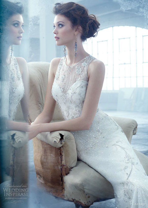 Lazaro Spring 2013 Wedding Dresses