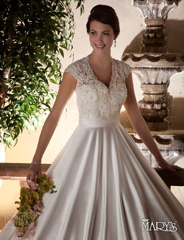 Mary s bridal spring 2013 wedding dresses sponsor for Pc mary s wedding dress