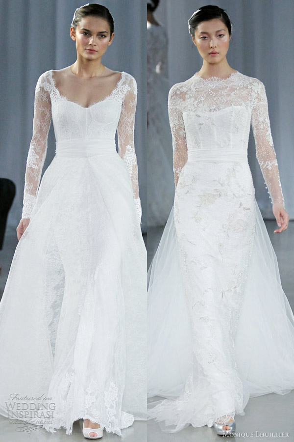 Monique Lhuillier Fall 2013 Wedding Dresses | Wedding Inspirasi | Page 2