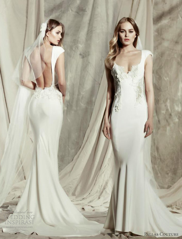 pallas couture 2013 2014 destinee bridal collection cosette gown