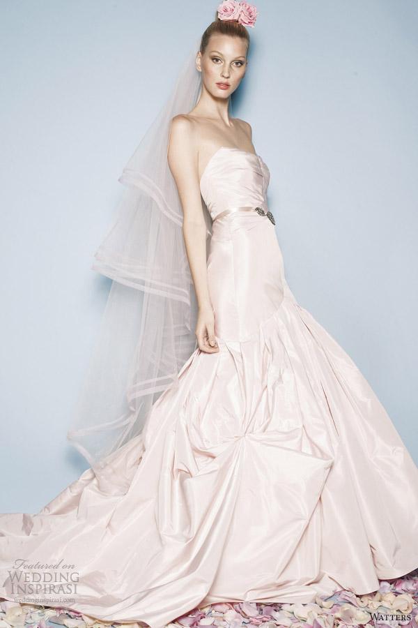 Watters brides spring 2013 wedding dresses wedding inspirasi for Wedding dress pictures 2013