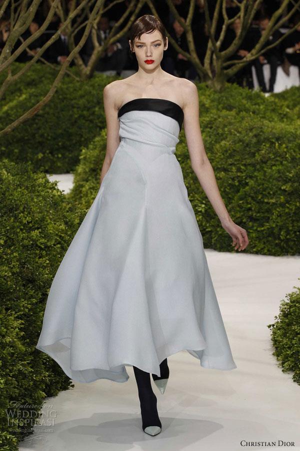 christian dior springsummer 2013 couture wedding inspirasi