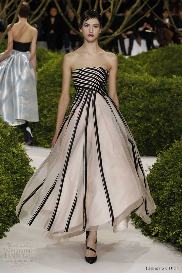 Christian Dior Spring Summer 2013 Couture Wedding