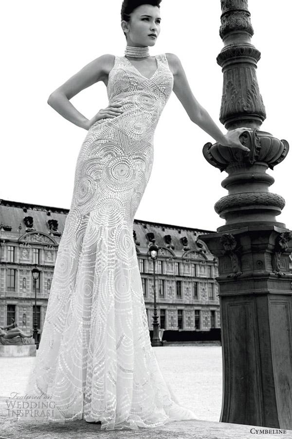 cymbeline bridal 2013 grafitti wedding dress